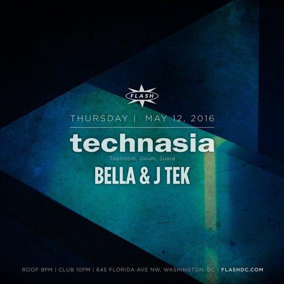 Technasia, Bella & J Tek at Flash