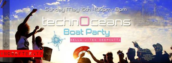 TechnOceans Grand Opening Boat Party with Bella, J-Tek and Deepcutta