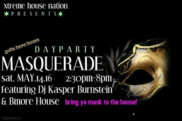 Xtreme House Nation Masquerade Day Party at 5Spot, Baltimore