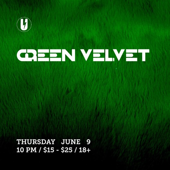 Green Velvet with Steve Kirn at U Street Music Hall