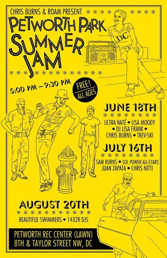 Petworth Park Summer Jam with Ultra Naté, Lisa Moody, DJ Lisa Frank, Chris Burns & Trev-ski at Petworth Recreation Center