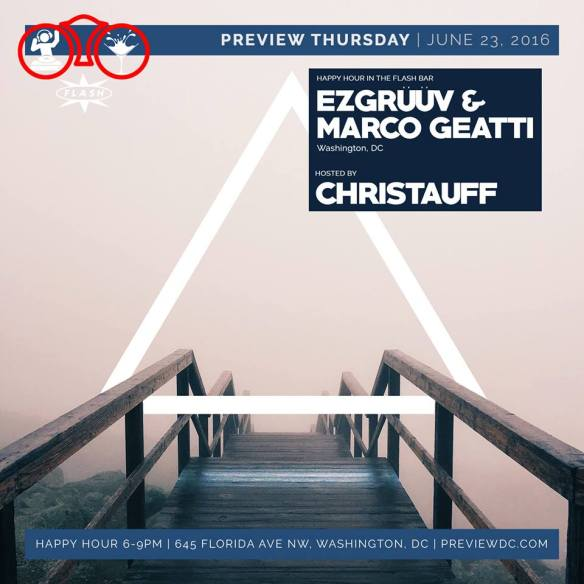 Preview with EZGrüüv & Marco Geatti at Flash