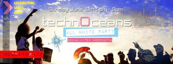 TechnOceans House & Techno All White Boat Party & DJ Bella's Bday Bash with Bella, J-Tek & Deepcutta