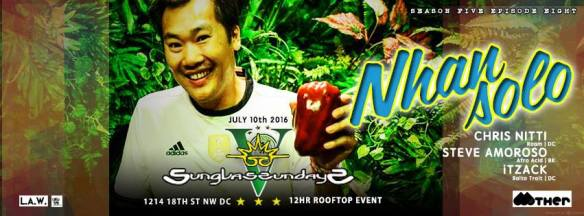 Sunglass Sundays V featuring Nhan Solo [Mother Recordings | Ber], Chris Nitti, Steve Amoroso and Itzjack at Public Bar