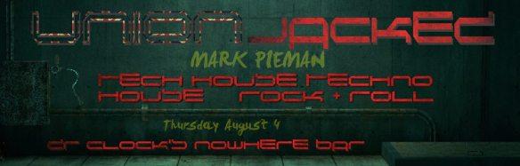 Union Jacked XI with DJ Pieman at Dr Clock's Nowhere Bar
