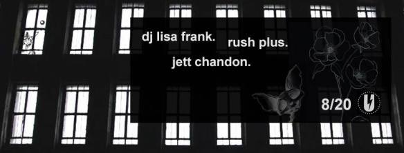 DJ Lisa Frank, Rush Plus and Jett Chandon at U Street Music Hall