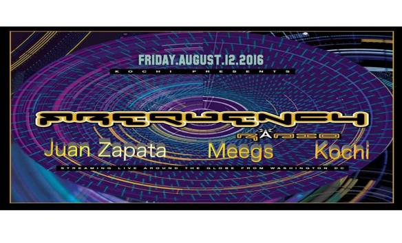 Frequency with Juan Zapata, DJMeegs and Kochi at Zeba Bar