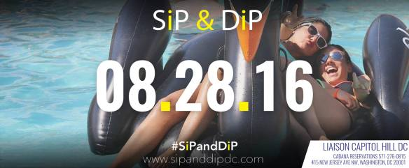 SiP and DiP Pool Party with Heather Femia at The Liaison Capitol Hill