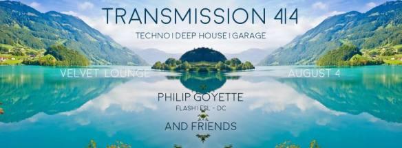 Transmission 4|4 with Philip Goyette Friends at Velvet Lounge