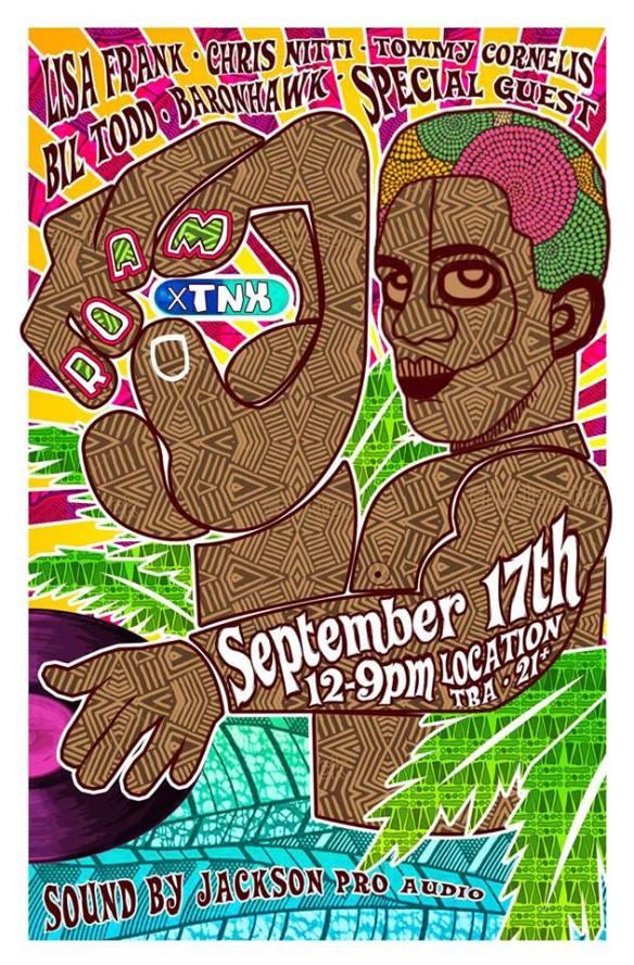 ROAM x TNX pt. II with DJ Lisa Frank, Chris Nitti, TNX DJs and Special Guest TBA at Glorious Health Club