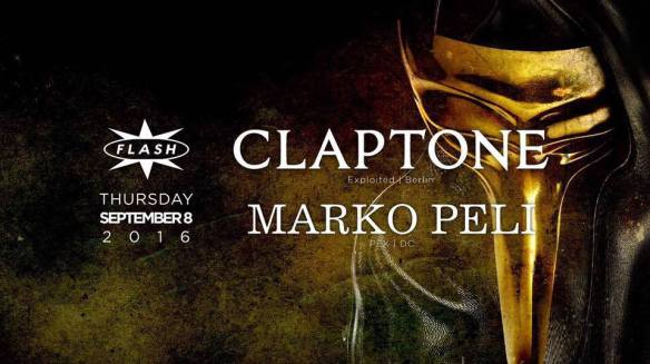 Claptone: Golden Summer Tour with Marko Peli at Flash