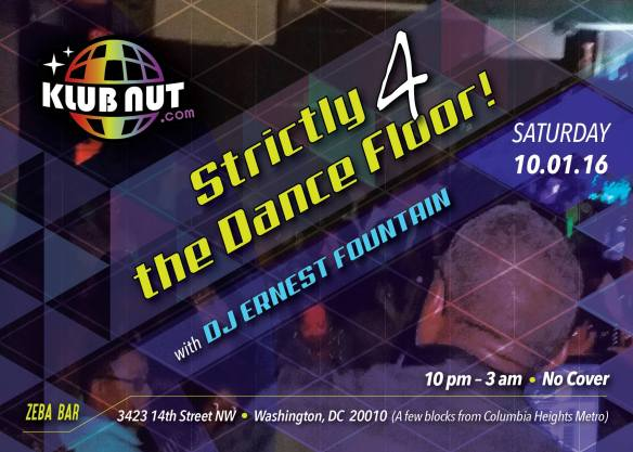 Strictly 4 the Dance Floor with DJ Ernest Fountain at Zeba Bar