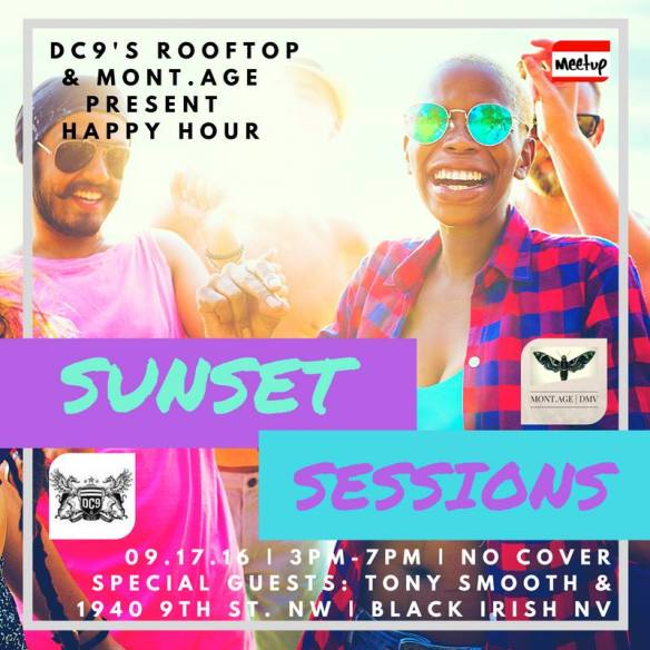 Sunset Sessions with Tony Smooth & Black Irish NV (Las Vegas) at DC9 Rooftop