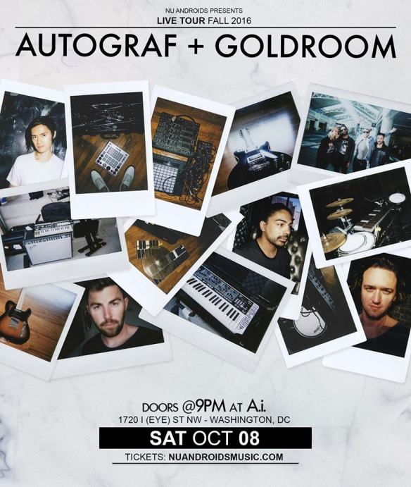 Autograf, Goldroom with Dirty Chocolate at A.i.