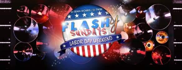 Flashy Sundays Columbus Day Weekend with DJ TWiN and DJ Sean Morris at Flash