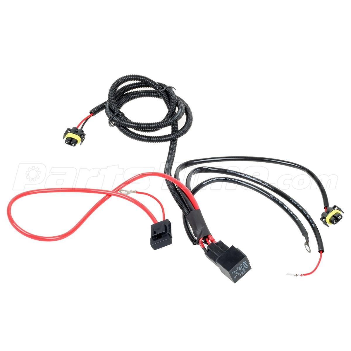 h11 hid wiring harness