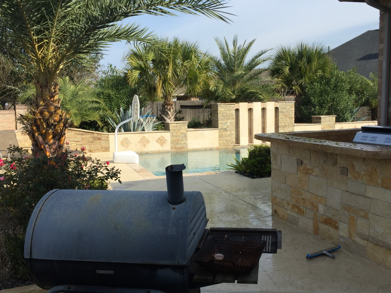 Custom Backyard Designs custom pools & outdoor designs | dc pools - katy, texas