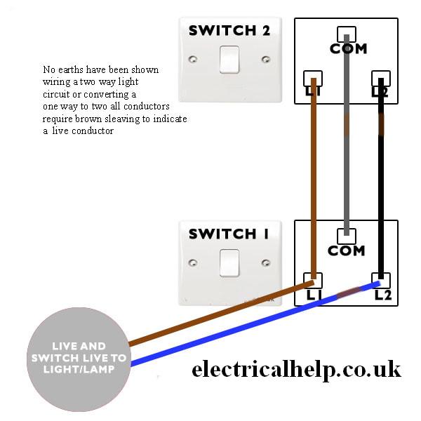 2 way switch problems