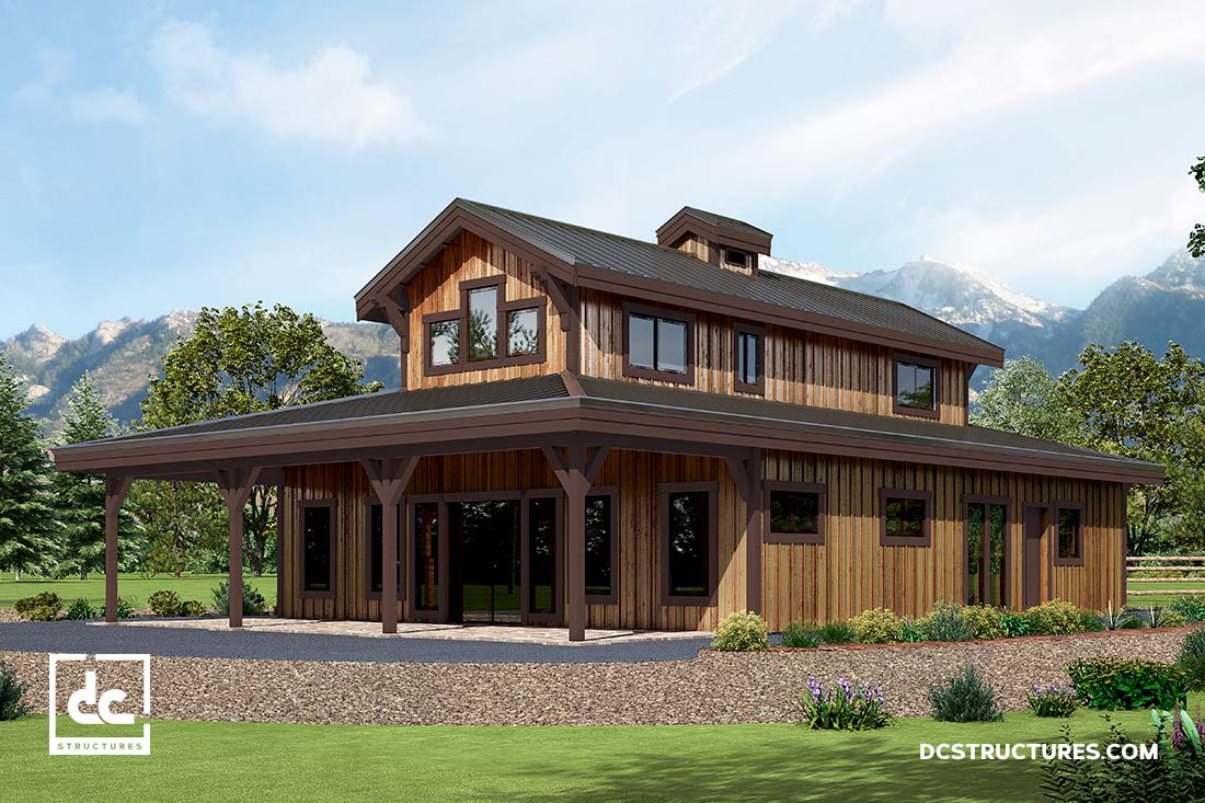 Excellent Ourproject Management Team To Select A Barn Home Kit Modify It To Suit Barn Home Kits Dc Structures Dc Simplified Design Process Involves Working Closely home decor Farm House Style Homes