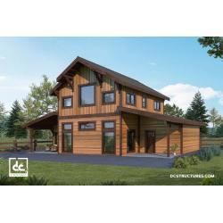 Small Crop Of American Barn Homes