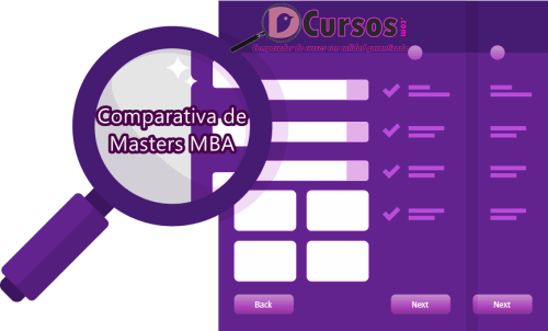 COMPARAR MASTERS MBA
