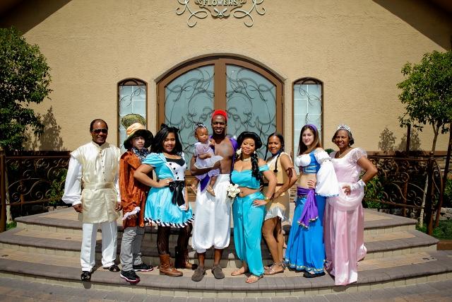 Costumed Disney Wedding