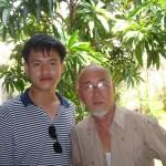 Nguyễn Tiến Trung và họa sĩ Trịnh Cung
