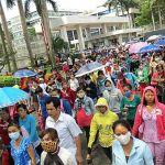 Cuộc đình công của công nhân ở khu công nghiệp Tân Tạo, TP. Hồ Chí Minh đã buộc chính quyền thay đổi chính sách pháp luật về bảo hiểm xã hội. Ảnh: BBC