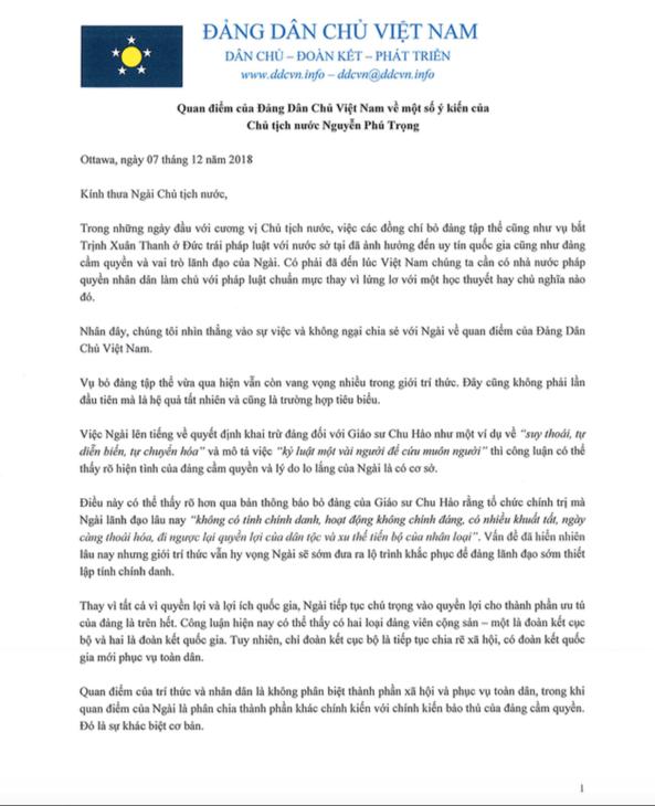 Letter to NPT pg1