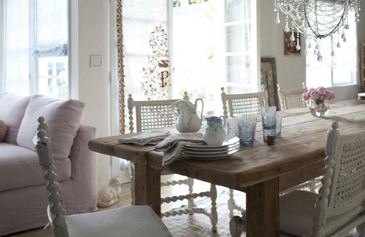 Deco Salle A Manger Campagne Chic