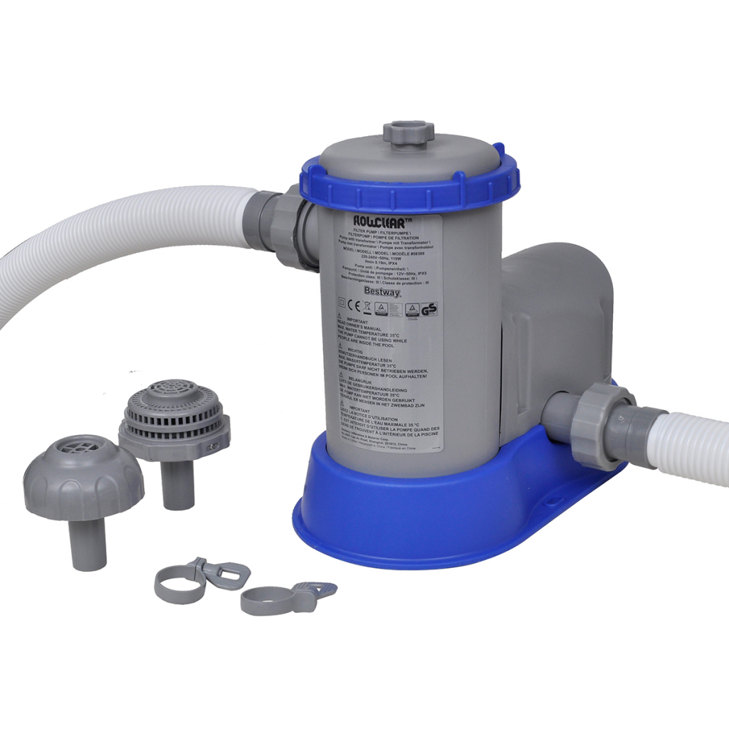 Pool Pumpe Anschließen Anleitung Bestway Bestway Flowclear 1500gph Filter Pump For Swimming Pool