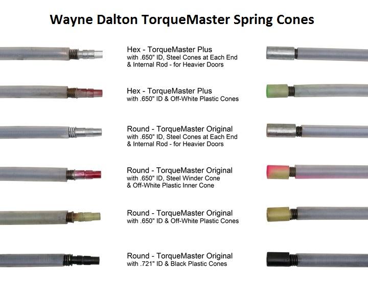 Wayne Dalton TorqueMaster Torsion Springs