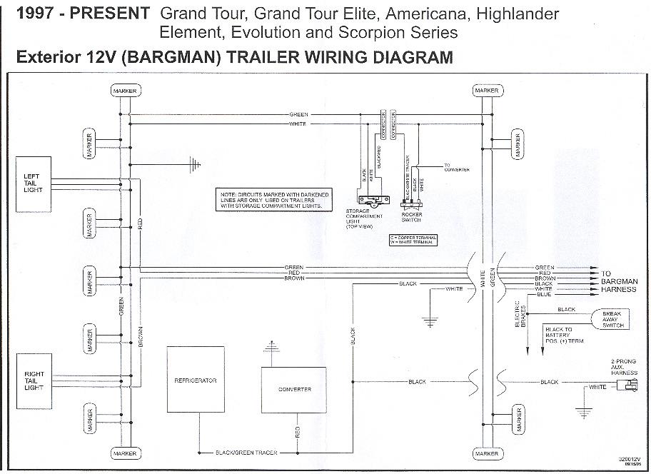 hallmark pop up camper wiring diagram