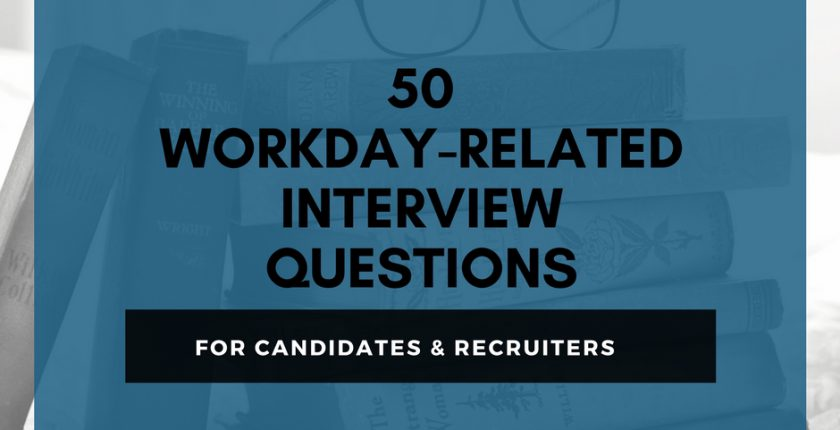 50 Workday Related Interview Questions (With Downloadable eBook