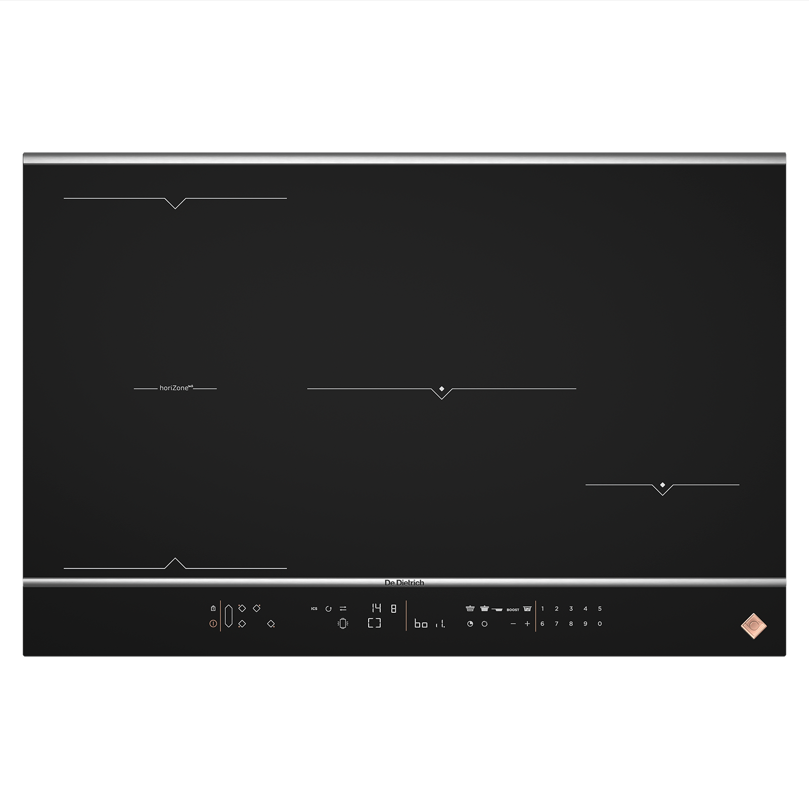 Sigle Casserole Induction Induction Hob Dpi7884xs De Dietrich