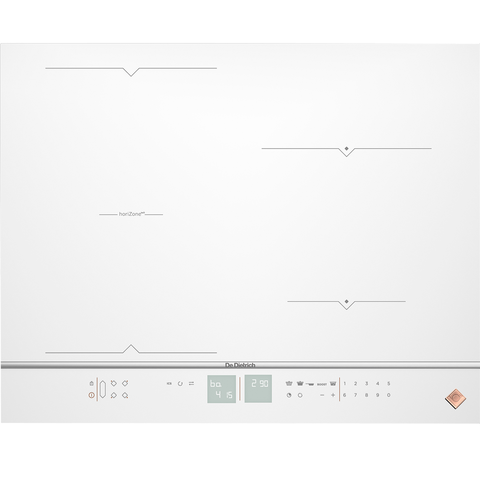 Sigle Casserole Induction Induction Hob Dpi7686wp De Dietrich