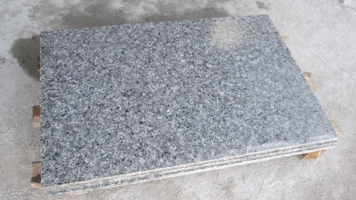 Quarzstein Fliesen Schneiden China Pearl Grey Polished Fliesen Pearl Blue Grau Granit Poliert