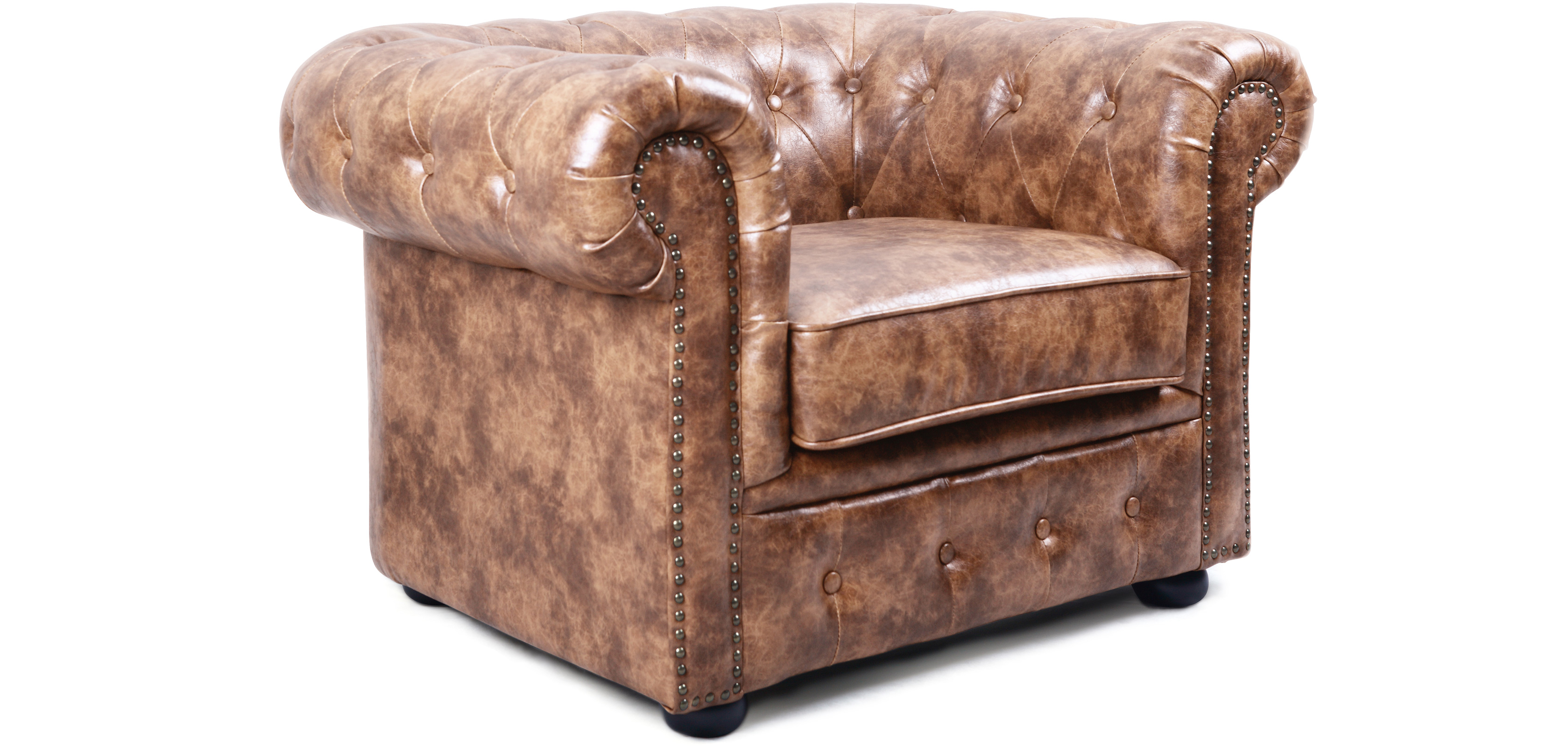 Chesterfield Sessel Braun Vintage Chesterfield Sessel