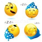 Sleeping Smiley Face