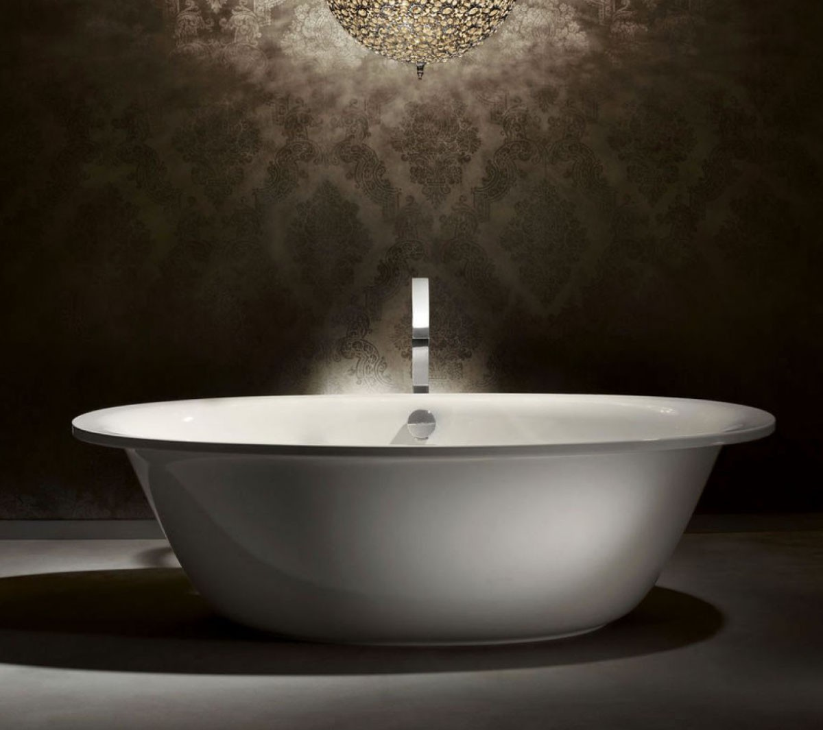 Badewanne Oval Stahl Ellipso Duo Oval
