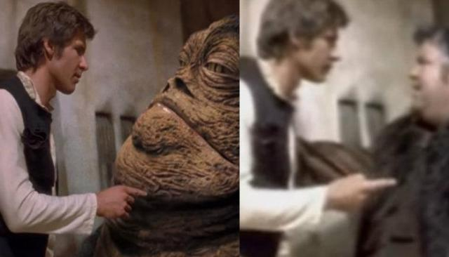 jabba the hutt, actor jabba the hutt,  actores star wars, star wars, villanos star wars, guerra de las galaxias, pelicula