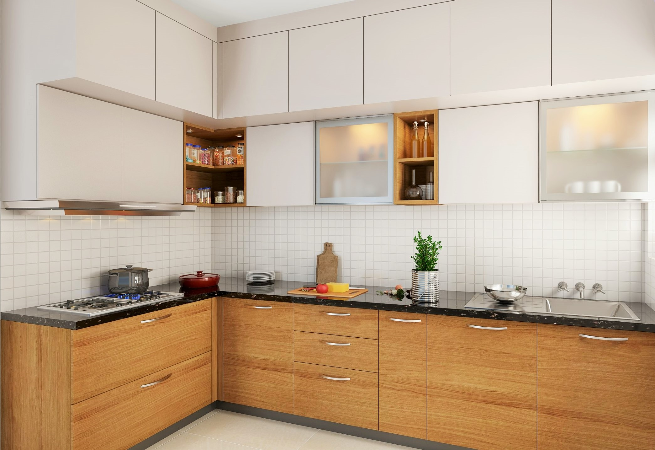 13 Small Kitchen Design Ideas That Make A Big Impact The Urban Guide