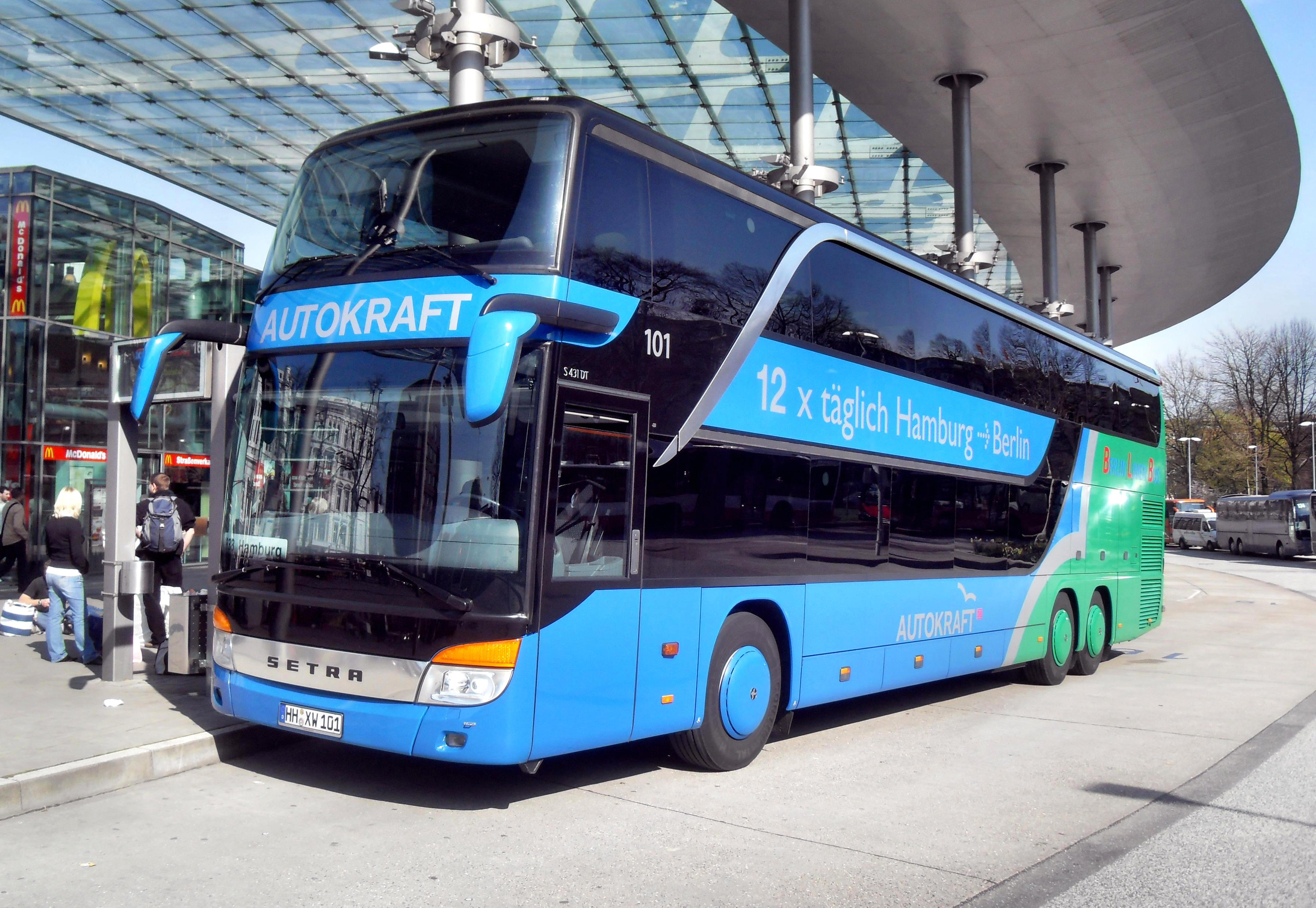 Bus Lübeck Hamburg Autokraft