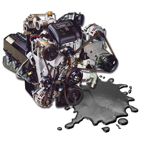 FIXING 73 Powerstroke COMMON OIL LEAKS Dead Head Diesel