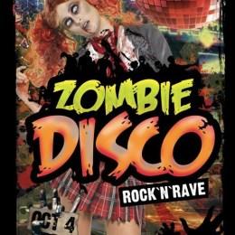 zombie disco - flyer front