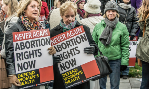 deadstate Ireland abortion rights