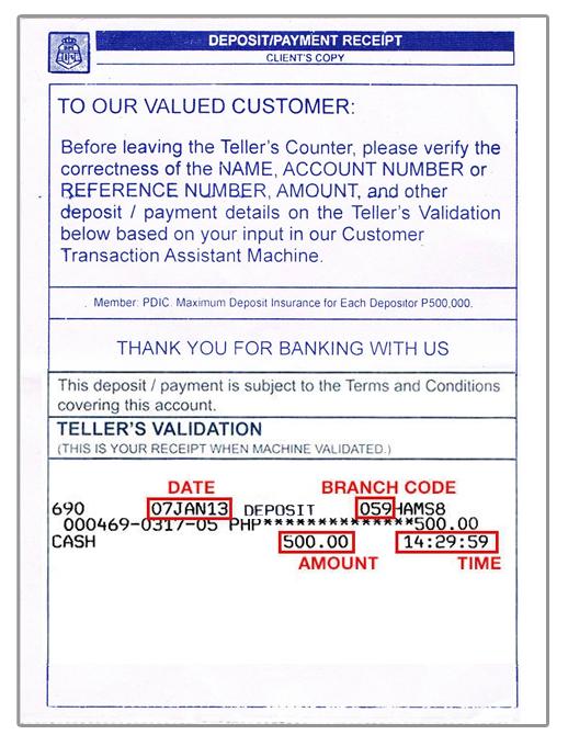 Payment Instructions \u2013 Deadways® - proof of payment receipt
