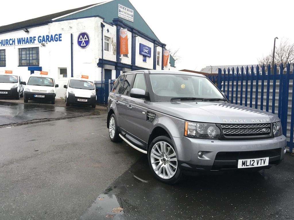 Garage Sale Rover Land Rover Range Rover Sport 3 Sdv6 Hse 5dr Automatic For Sale