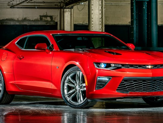 2016 Chevrolet Camaro Upgrades
