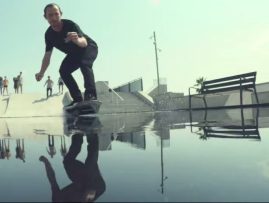 Lexus Hoverboard Over Water